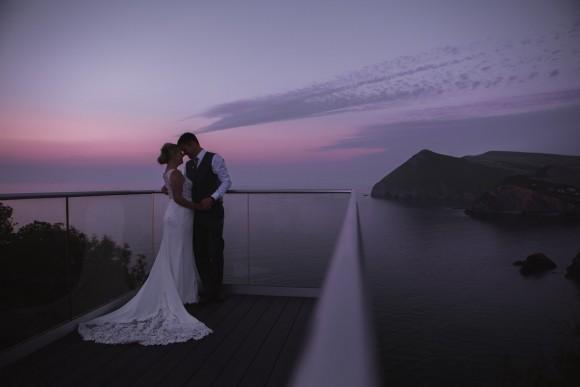 Taunton & Somerset Wedding Photographer - Sandy Cove Hotel - Devon